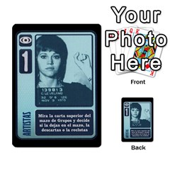 Kgb 1   Jack 2 By Pixatintes   Multi Purpose Cards (rectangle)   8ymciacwhjkt   Www Artscow Com Front 32