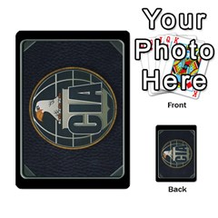 Kgb 2   Battle By Pixatintes   Multi Purpose Cards (rectangle)   Rfczzgx6odak   Www Artscow Com Back 10