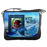 Wet and Wild Messenger Bag