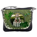 Green Nature Messenger Bag