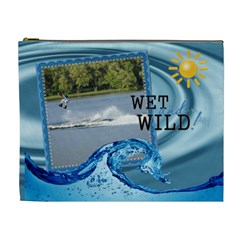 Wet And Wild Xl Cosmetic Bag By Lil    Cosmetic Bag (xl)   Vr9d5xfpmazn   Www Artscow Com Front