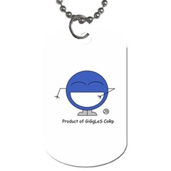 Balloon Dog Tag  By Giggles Corp   Dog Tag (two Sides)   Axz9pj5kid3u   Www Artscow Com Back