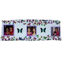 Butterfly Boarder Body Pillowcase By Kim Blair   Body Pillow Case Dakimakura (two Sides)   A5n7t9k2o4qi   Www Artscow Com Front