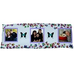 Butterfly Boarder Body Pillowcase By Kim Blair   Body Pillow Case Dakimakura (two Sides)   A5n7t9k2o4qi   Www Artscow Com Back