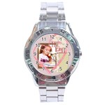 the girl - Stainless Steel Analogue Men's Watch