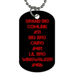 Wingwalker By Selwyn   Dog Tag (two Sides)   Ex9bqkmk0ngj   Www Artscow Com Back