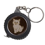 Leather-Look Kitten Measuring Tape