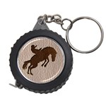 Leather-Look Rodeo Measuring Tape