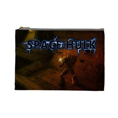Space Hulk #3 (l) By Karsten   Cosmetic Bag (large)   Gktkbrbnsv4d   Www Artscow Com Front