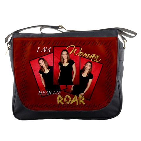 Messenger Bag   I Am Woman By Carla   Messenger Bag   Od1bekhoklj5   Www Artscow Com Front