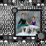 Sibling dance 2012 option 2 - ScrapBook Page 12  x 12