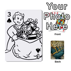 Falloutdeckcustoma By Brianna   Playing Cards 54 Designs   3k4ufsxoabky   Www Artscow Com Front - Spade3