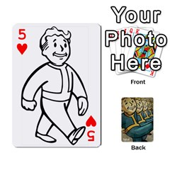 Falloutdeckcustoma By Brianna   Playing Cards 54 Designs   3k4ufsxoabky   Www Artscow Com Front - Heart5