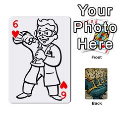 Falloutdeckcustoma By Brianna   Playing Cards 54 Designs   3k4ufsxoabky   Www Artscow Com Front - Heart6