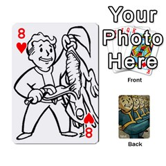 Falloutdeckcustoma By Brianna   Playing Cards 54 Designs   3k4ufsxoabky   Www Artscow Com Front - Heart8
