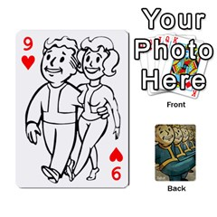 Falloutdeckcustoma By Brianna   Playing Cards 54 Designs   3k4ufsxoabky   Www Artscow Com Front - Heart9