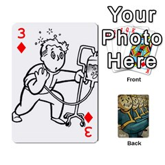 Falloutdeckcustoma By Brianna   Playing Cards 54 Designs   3k4ufsxoabky   Www Artscow Com Front - Diamond3
