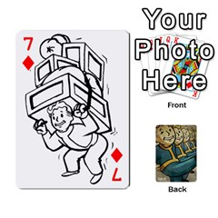 Falloutdeckcustoma By Brianna   Playing Cards 54 Designs   3k4ufsxoabky   Www Artscow Com Front - Diamond7