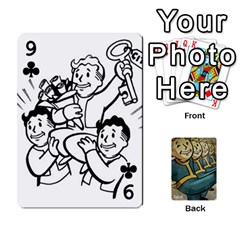 Falloutdeckcustoma By Brianna   Playing Cards 54 Designs   3k4ufsxoabky   Www Artscow Com Front - Club9