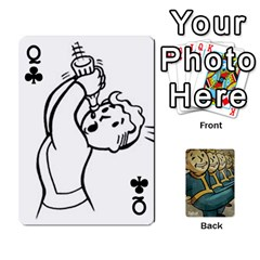 Queen Falloutdeckcustoma By Brianna   Playing Cards 54 Designs   3k4ufsxoabky   Www Artscow Com Front - ClubQ