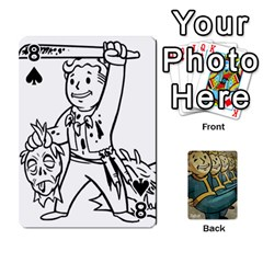 Falloutdeckcustoma By Brianna   Playing Cards 54 Designs   3k4ufsxoabky   Www Artscow Com Front - Spade8