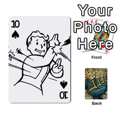 Falloutdeckcustoma By Brianna   Playing Cards 54 Designs   3k4ufsxoabky   Www Artscow Com Front - Spade10