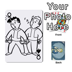 Queen Falloutdeckcustomc By Brianna   Playing Cards 54 Designs   Gb7a645l6vum   Www Artscow Com Front - SpadeQ