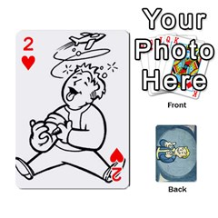 Falloutdeckcustomc By Brianna   Playing Cards 54 Designs   Gb7a645l6vum   Www Artscow Com Front - Heart2
