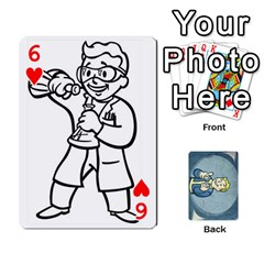 Falloutdeckcustomc By Brianna   Playing Cards 54 Designs   Gb7a645l6vum   Www Artscow Com Front - Heart6