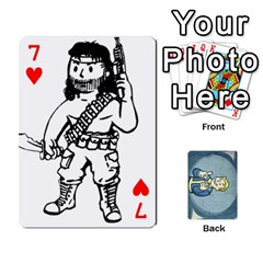 Falloutdeckcustomc By Brianna   Playing Cards 54 Designs   Gb7a645l6vum   Www Artscow Com Front - Heart7