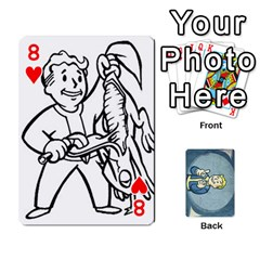 Falloutdeckcustomc By Brianna   Playing Cards 54 Designs   Gb7a645l6vum   Www Artscow Com Front - Heart8