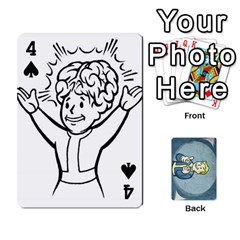 Falloutdeckcustomc By Brianna   Playing Cards 54 Designs   Gb7a645l6vum   Www Artscow Com Front - Spade4