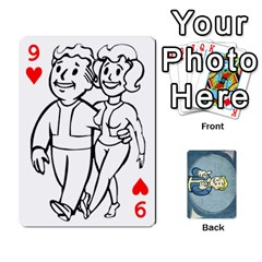 Falloutdeckcustomc By Brianna   Playing Cards 54 Designs   Gb7a645l6vum   Www Artscow Com Front - Heart9