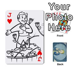 Jack Falloutdeckcustomc By Brianna   Playing Cards 54 Designs   Gb7a645l6vum   Www Artscow Com Front - HeartJ