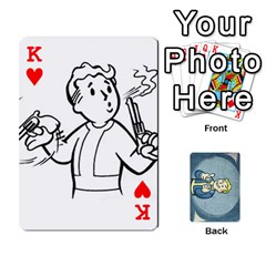 King Falloutdeckcustomc By Brianna   Playing Cards 54 Designs   Gb7a645l6vum   Www Artscow Com Front - HeartK