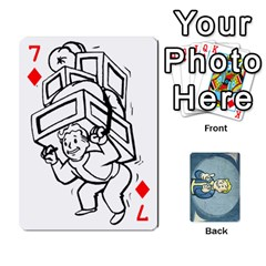 Falloutdeckcustomc By Brianna   Playing Cards 54 Designs   Gb7a645l6vum   Www Artscow Com Front - Diamond7