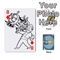 Falloutdeckcustomc By Brianna   Playing Cards 54 Designs   Gb7a645l6vum   Www Artscow Com Front - Diamond8