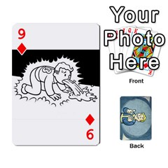 Falloutdeckcustomc By Brianna   Playing Cards 54 Designs   Gb7a645l6vum   Www Artscow Com Front - Diamond9