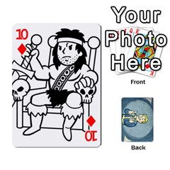 Falloutdeckcustomc By Brianna   Playing Cards 54 Designs   Gb7a645l6vum   Www Artscow Com Front - Diamond10