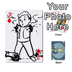 Jack Falloutdeckcustomc By Brianna   Playing Cards 54 Designs   Gb7a645l6vum   Www Artscow Com Front - DiamondJ