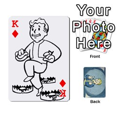 King Falloutdeckcustomc By Brianna   Playing Cards 54 Designs   Gb7a645l6vum   Www Artscow Com Front - DiamondK
