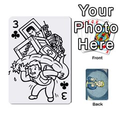 Falloutdeckcustomc By Brianna   Playing Cards 54 Designs   Gb7a645l6vum   Www Artscow Com Front - Club3