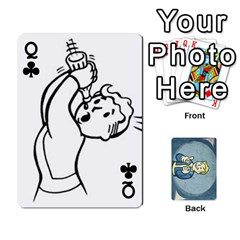 Queen Falloutdeckcustomc By Brianna   Playing Cards 54 Designs   Gb7a645l6vum   Www Artscow Com Front - ClubQ