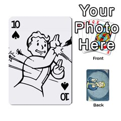 Falloutdeckcustomc By Brianna   Playing Cards 54 Designs   Gb7a645l6vum   Www Artscow Com Front - Spade10
