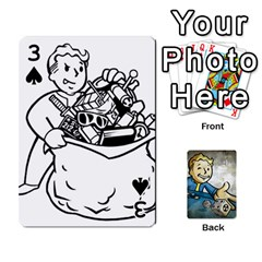 Falloutdeckcustomd By Brianna   Playing Cards 54 Designs   9os9ldaxvlym   Www Artscow Com Front - Spade3