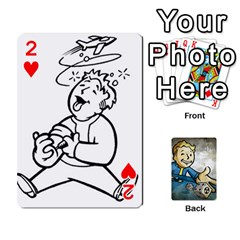 Falloutdeckcustomd By Brianna   Playing Cards 54 Designs   9os9ldaxvlym   Www Artscow Com Front - Heart2