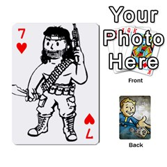 Falloutdeckcustomd By Brianna   Playing Cards 54 Designs   9os9ldaxvlym   Www Artscow Com Front - Heart7