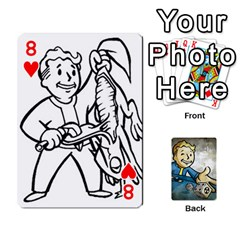 Falloutdeckcustomd By Brianna   Playing Cards 54 Designs   9os9ldaxvlym   Www Artscow Com Front - Heart8