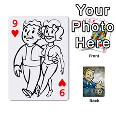 Falloutdeckcustomd By Brianna   Playing Cards 54 Designs   9os9ldaxvlym   Www Artscow Com Front - Heart9