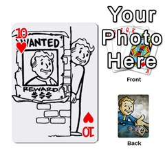 Falloutdeckcustomd By Brianna   Playing Cards 54 Designs   9os9ldaxvlym   Www Artscow Com Front - Heart10
